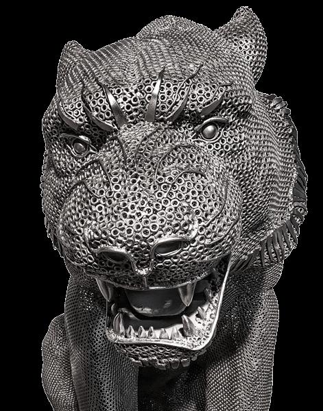 Galeria Figur Stalowych tygrys